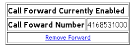 remove call forwarding